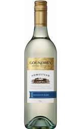 Goundrey `Homestead` Sauvignon Blanc 2018 (6 x 750mL), WA.