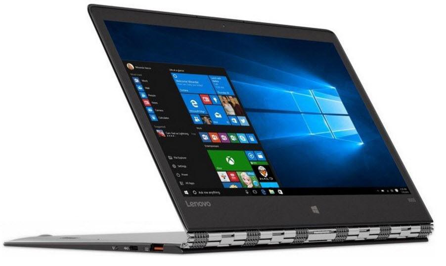 """Lenovo Yoga 900S (Silver)- 12.5"""" FHD Touch/Core M5/8GB/256GB SSD"""