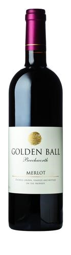 Golden Ball Merlot 2012 (12 x 750mL), Beechworth, VIC.