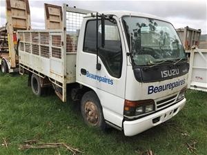 1995 Isuzu NKR Tray Truck Auction 0010 3014826