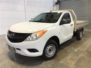2012 Mazda BT-50 4X2 XT Turbo Diesel Manual Cab Chassis Auction ...