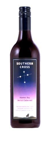 Southern Cross Hawkes Bay Merlot Cabernet 2014 (12 x 750mL) NZ