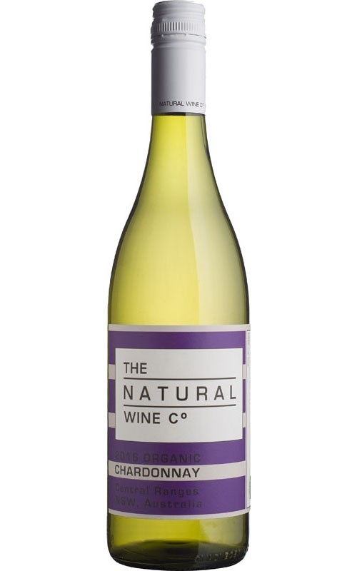 The Natural Wine Co Organic Chardonnay 2017 (12 x 750mL) Central Ranges