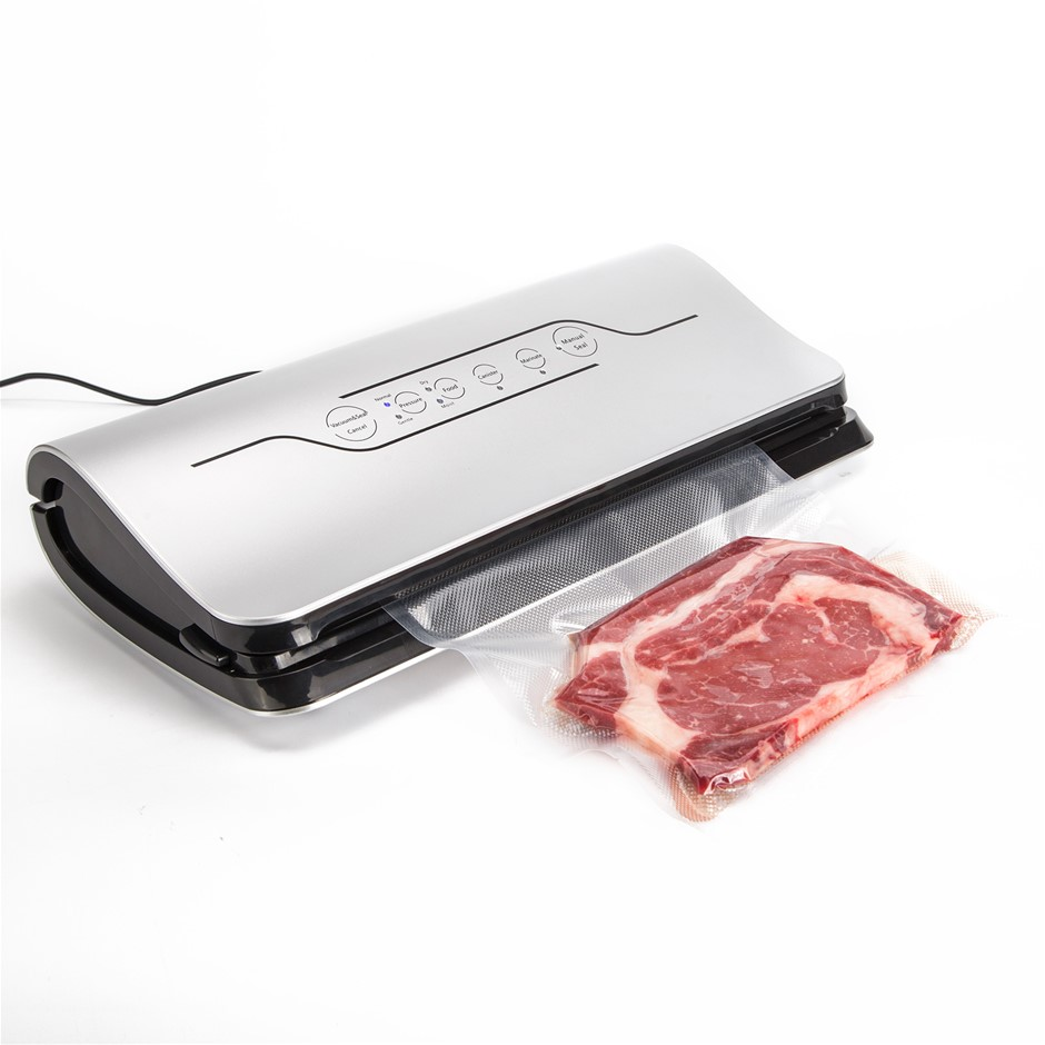Vacuum Food Sealer - 125W SILVER