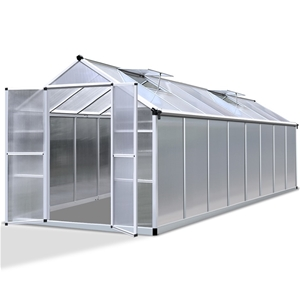 Green Fingers 4.7 x 2.5m Polycarbonate A