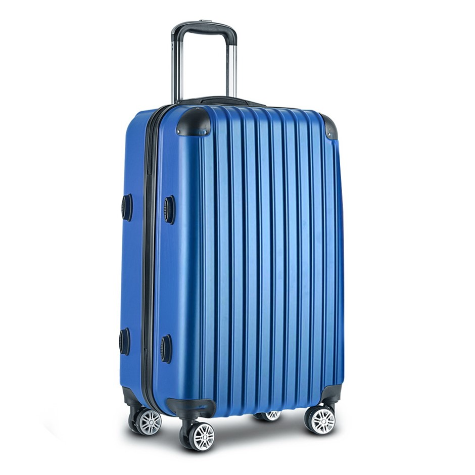 Wanderlite 28inch Lightweight Hard Suit Case - Blue