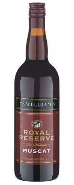 McWilliam's Royal Reserve Muscat NV (12 x 750mL), SE AUS.