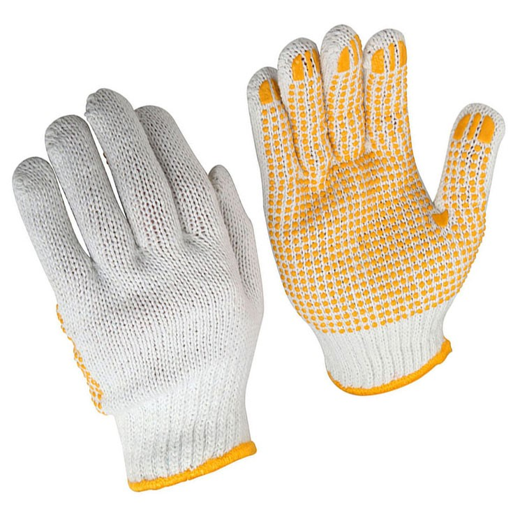 Pack of 12 Pairs x TOLSEN Garden Gloves with Knitted Wrist Size 10/XL, Poly