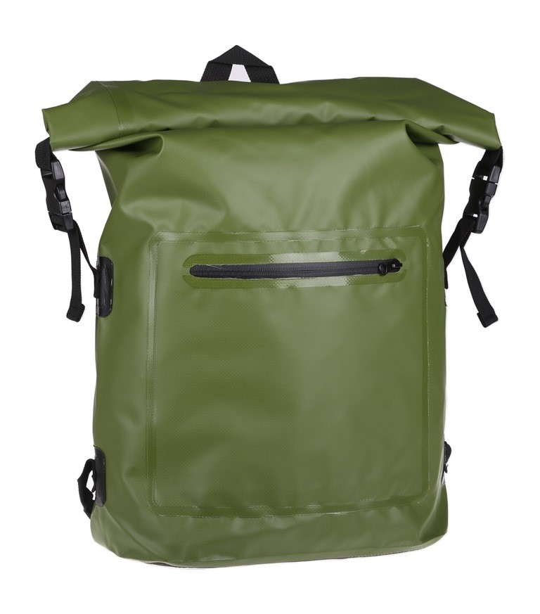 Waterproof Backpack Dry Bag 20Ltr, Green. Buyers Note - Discount Freight Ra
