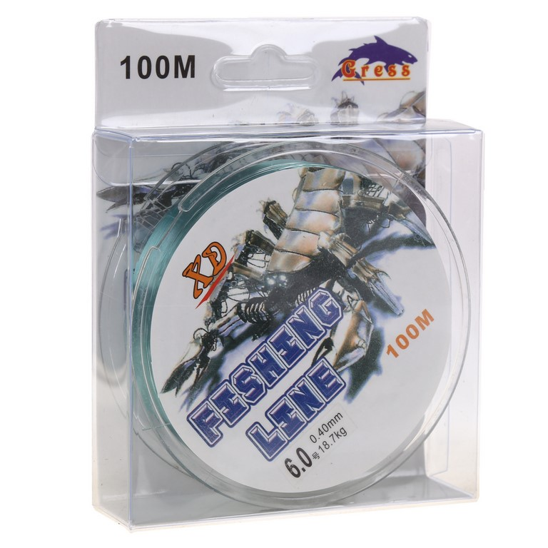 10 x Reels of 100m Fishing Line 0.40mm x 18.7Kg Capacity. Buyers Note - Dis