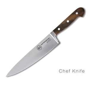Tessin Kitchen Chef Knife Walnut Handle