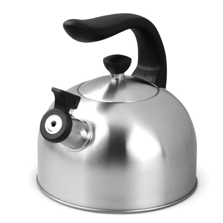 Boxberg 2L Whistling Kettle Stainless Steel Tea Camping Kitchen Stove Top