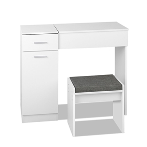 Artiss Dressing Table with Drawers - Whi