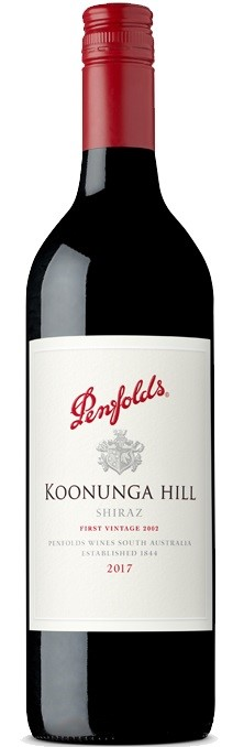 Penfolds `Koonunga Hill` Shiraz 2017 (6 x 750mL),SA.