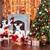 Jingle Jollys 8FT Christmas Snow Tree