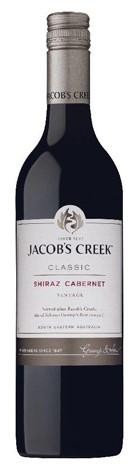Jacob's Creek `Classic ` Shiraz Cabernet 2017 (12 x 750mL), SE AUS.