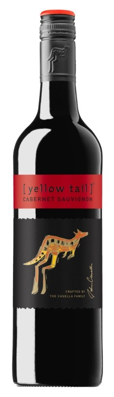 Yellowtail Cabernet Sauvignon 2017 (6 x 750mL), SE, AUS.