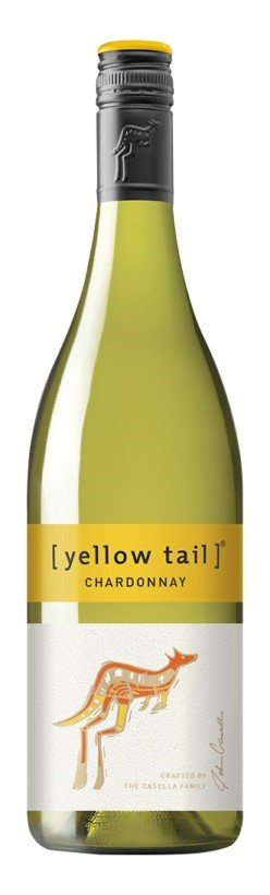 Yellowtail Chardonnay 2017 (6 x 750mL), SE, AUS.