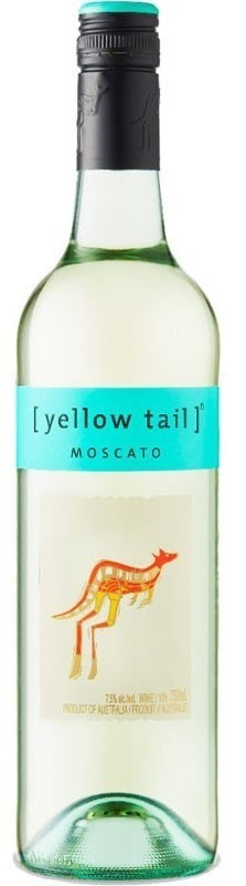 Yellowtail Moscato NV (6 x 750mL), SE, AUS.