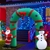 Jingle Jollys Inflatable Sanata and Snowman Archway