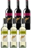 Yellowtail Semillon Sauv Blanc & Pinot Noir Mixed Pack (6 x 750mL), SE AUS.