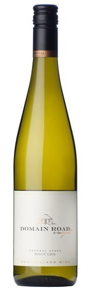 Domain Road Pinot Gris 2018 (12 x 750mL), Central Otago, NZ.