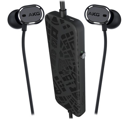 AKG N20 NC In-Ear Headphones with Active Noise Cancelling (Black)