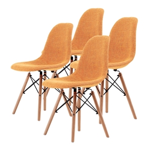 Replica Eames DSW Dining Chair - LIGHT O
