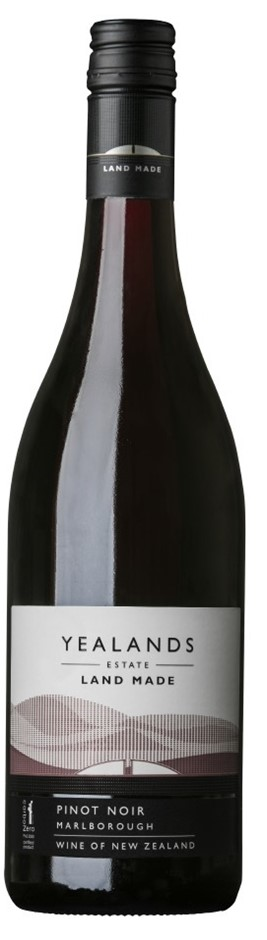 Yealands Estate `Land Made` Pinot Noir 2017 (12 x 750mL), Marlborough, NZ.