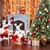 Jingle Jollys 7FT Snow Tips Christmas Tree