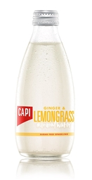 Capi Ginger & Limegrass Sparkling (24 x 250mL).