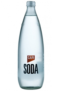 Capi Soda Water (12 x 750mL).