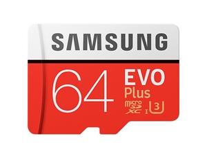 Samsung (MB-MC64GA/APC) EVO Plus microSD