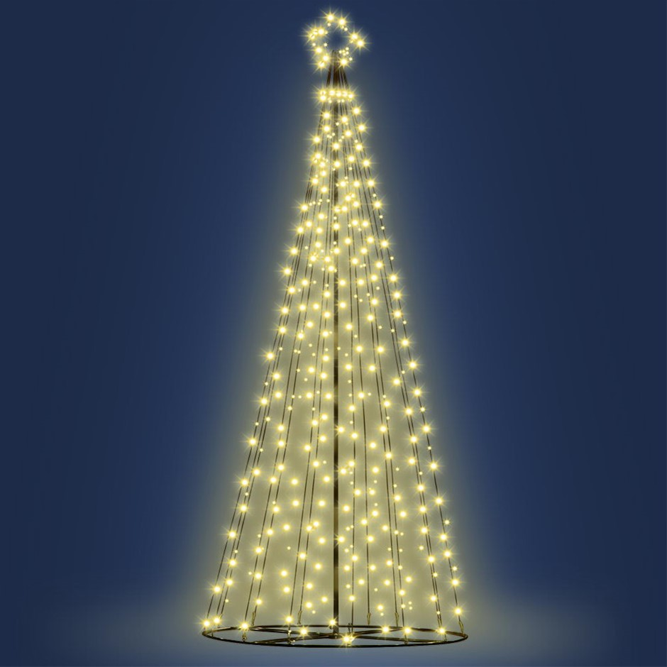 Jingle Jollys LED 10FT Christmas Tree - Warm White