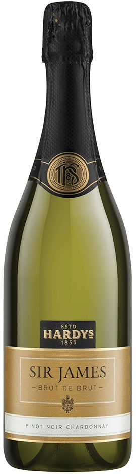 Hardy's `Sir James` Brut de Brut NV (6 x 750mL), SE AUS.
