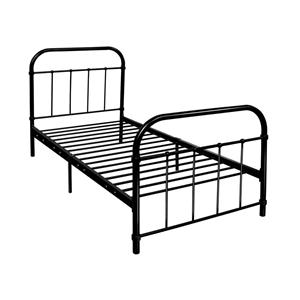 Artiss Metal Single Bed Frame - Black