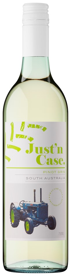 Just'n Case Tractor Pull Pinot Gris 2016 (12 x 750mL) SA