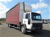 1998 Volvo FL6, 6 x 2 Curtainsider Rigid Truck with Tailgate Loader