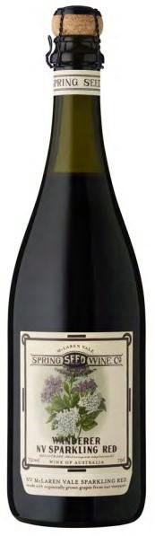 Spring Seed 'The Wanderer' Sparkling Red NV (6 x 750mL) McLaren Vale, SA