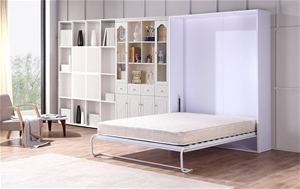 Palermo Queen Size Wall Bed Mechanism Ha