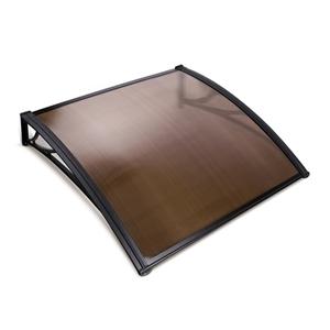 Instahut DIY Window Door Awning Transpar