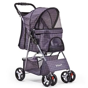Pet 4 Wheel Pet Stroller - Blue