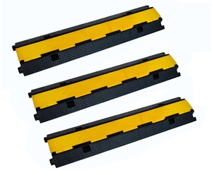3pcs 2-Cable Rubber Electrical Wire Cove