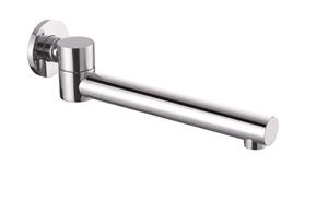 240mm Brass Bath Safety Spout Swivel