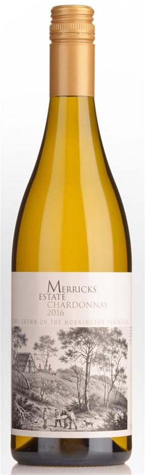 Merricks Estate Chardonnay 2016 (12 x 750mL), Mornington Peninsula, VIC.