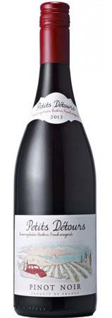 Petits Detours Pinot Noir 2017 (12 x 750mL), Languedoc, France.