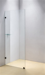 700 x 2000mm Frameless 10mm Safety Glass