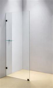 800 x 2100mm Frameless 10mm Safety Glass