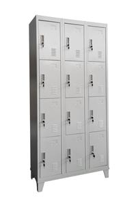 Twelve-Door Office Gym Shed Storage Lock