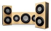 RSON Brand NEW Wireless Bluetooth 3-Piece Sound Systems